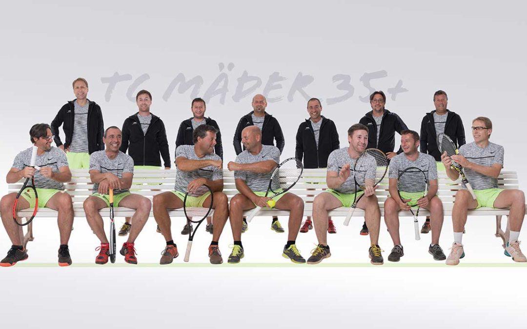 Wir sind stolzer Sponsor von den Herren 35+ des TC Mäder